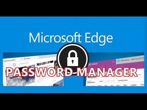 edge password manager not working