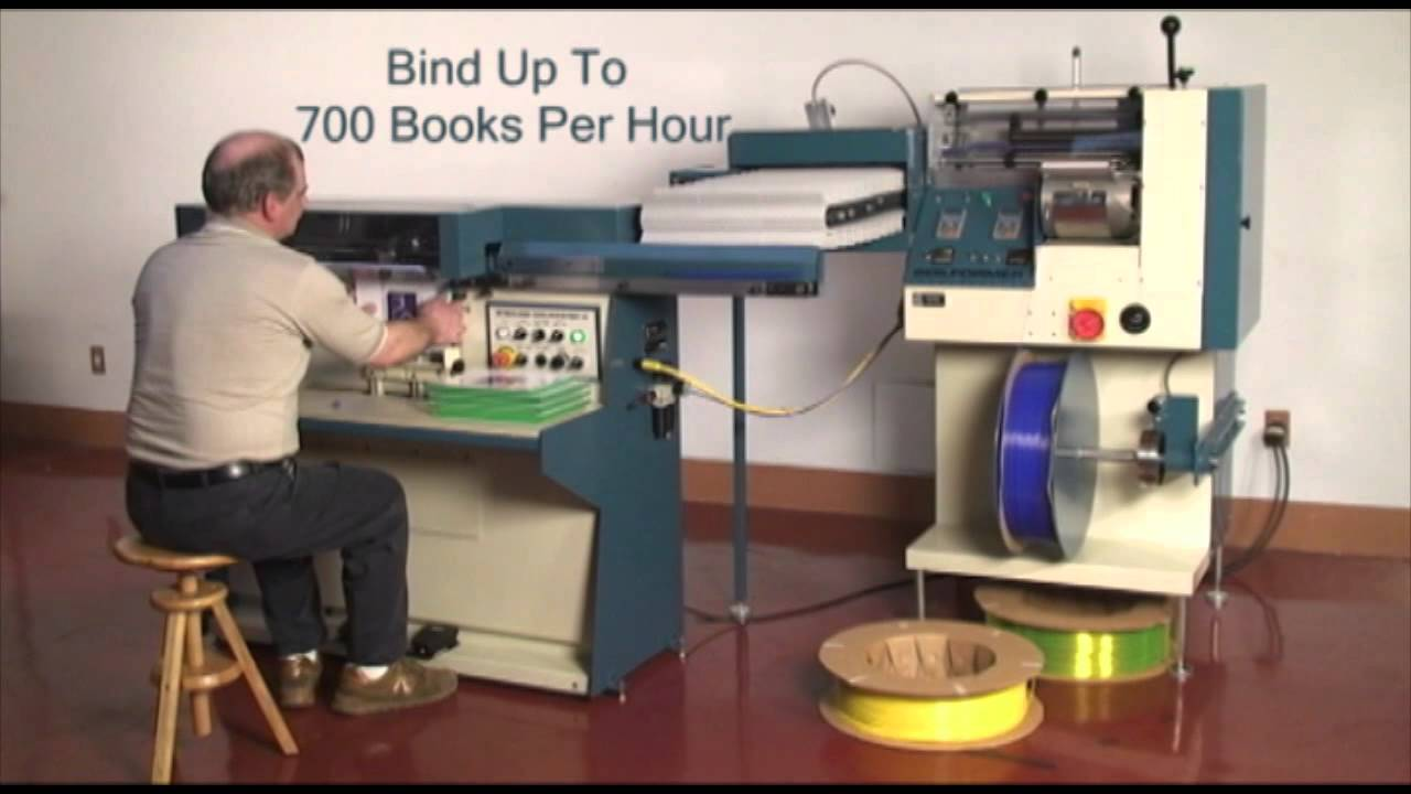Watch on coil binding machine
