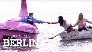 Drama auf dem Wasser: Rettungsaktion mit dem Tretboot | Auf Streife - Berlin | SAT.1 TV