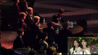 Download Video 190115 BTS and Seventeen reaction to GFRIEND(여자친구) - Time for the moon night + Sunrise @SMA 2019. MP3 3GP MP4