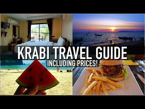 KRABI TRAVEL GUIDE (WITH PRICES)! | Accommodation, Transport, Food & Activities