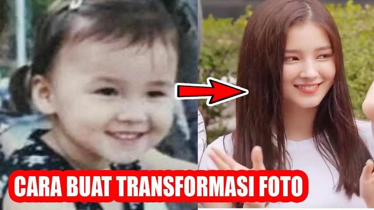 Cara Membuat Foto Transformasi Dari Kecil Sampai Dewasa Youtube