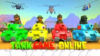 TANK GAME: ONLINE - EPIC GAMEPLAY!!! - FREE TANK GAME!!! - EPIC GAME (HD)