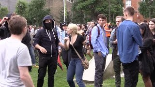 "Lauren Southern ATTACKED by ""anti-fascist"" thugs in London!"