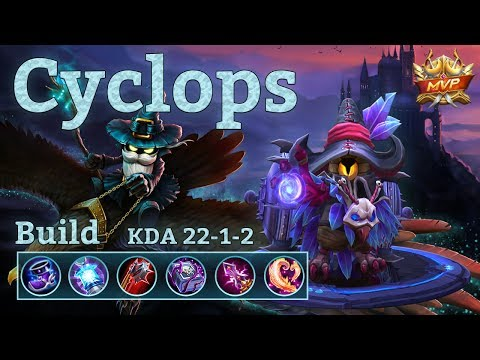 Mobile Legends: Cyclops MVP, Insane Match! 150k Damage, Look at that Heal!