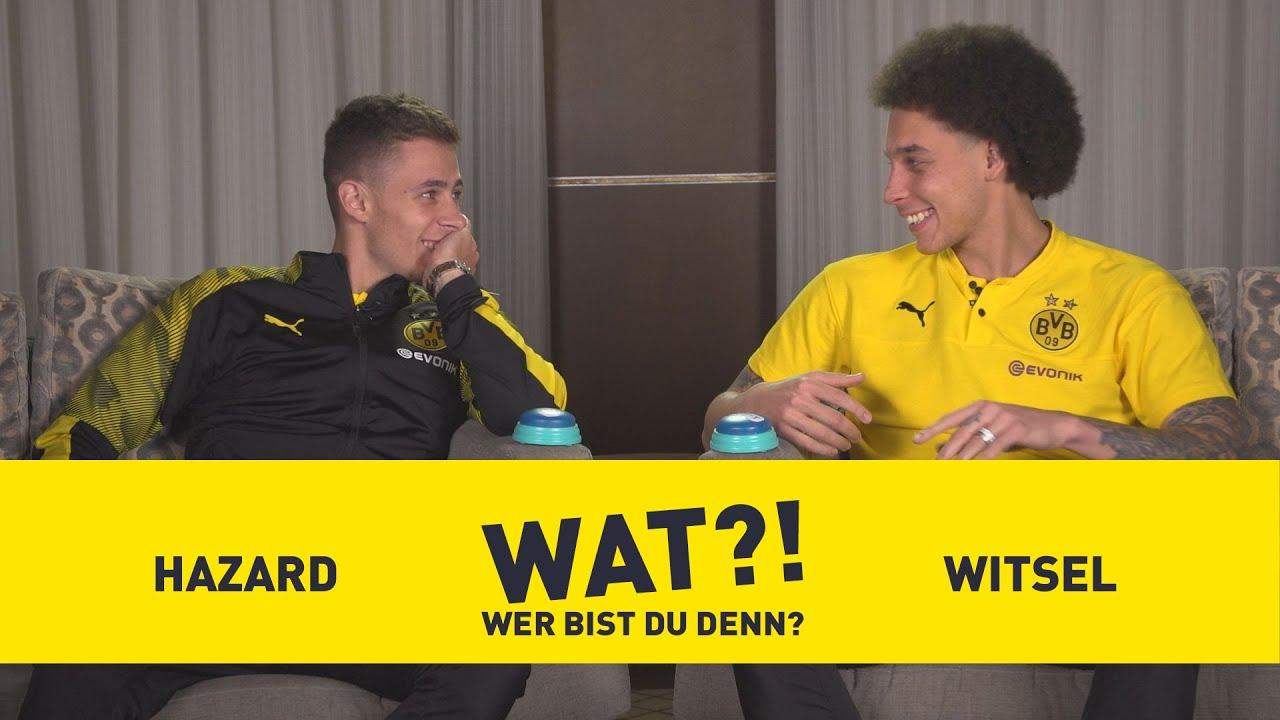 Wat?! Wer bist du denn? | BVB-Challenge mit Axel Witsel & Thorgan Hazard