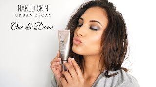 First Impressions : Perfecteur de teint hybride Naked Skin ONE & DONE Urban Decay
