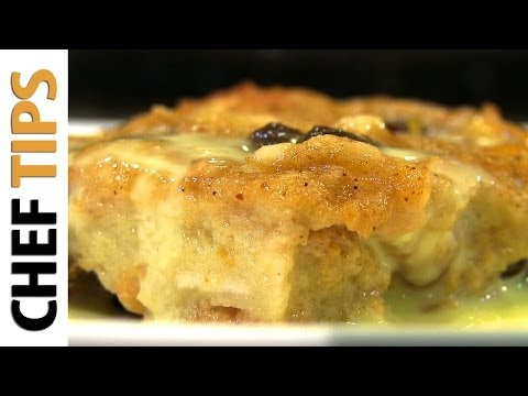 Persimmon Bread Pudding - Bread Pudding Recipe with Persimmons