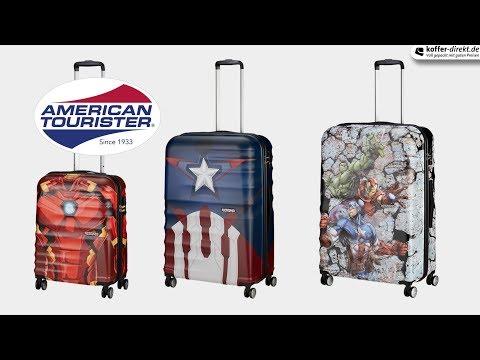 American Tourister - Wavebreaker 4-Rollen-Trolley   Koffer-direkt.de