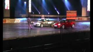 Tiff Needell V Jason Plato racing  Mazda MX 5