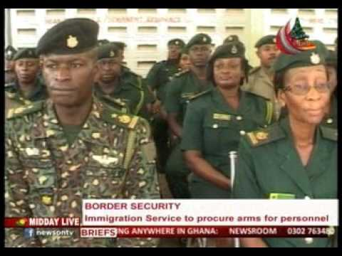 MiddayLive - Immigration service to procure arms for personnel  - 24/12/2015
