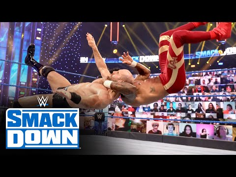 The Street Profits vs. Cesaro & Shinsuke Nakamura: SmackDown, Oct. 30, 2020