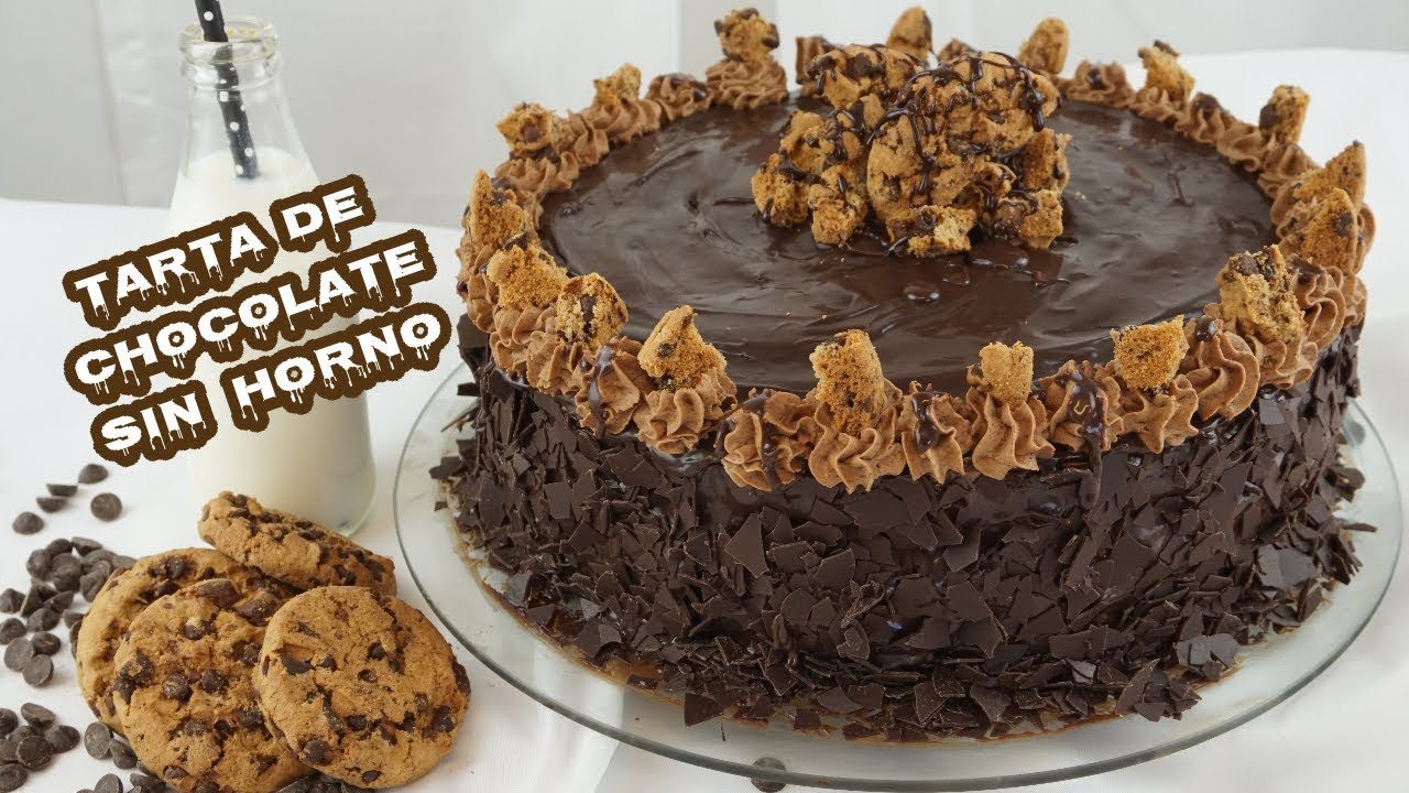 Tarta Muerte Por Chocolate Sin Horno Death By Chocolate Youtube