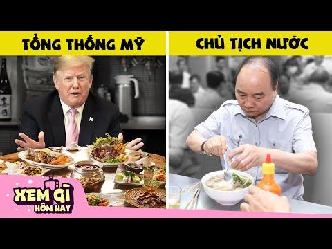 Khám phá Bữa ăn của các Nguyên Thủ Quốc Gia - Chủ tịch nước ta ăn gì?