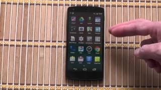 Nexus 5: Распаковка и первое включение!