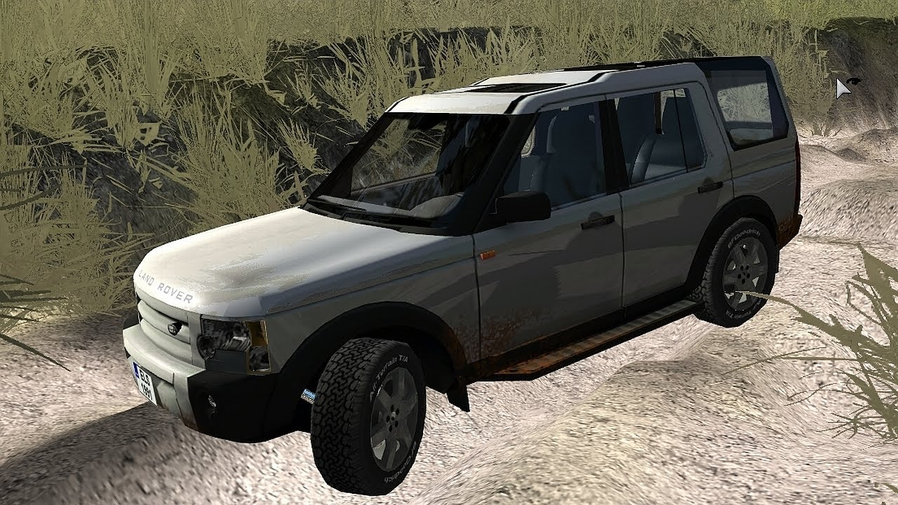 Rigs Of Rods Land Rover Discovery 3 Off Road Driving