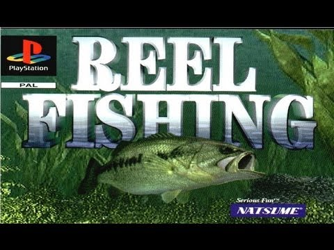 Classic PS1 Game Reel Fishing On PS3 In HD 720p