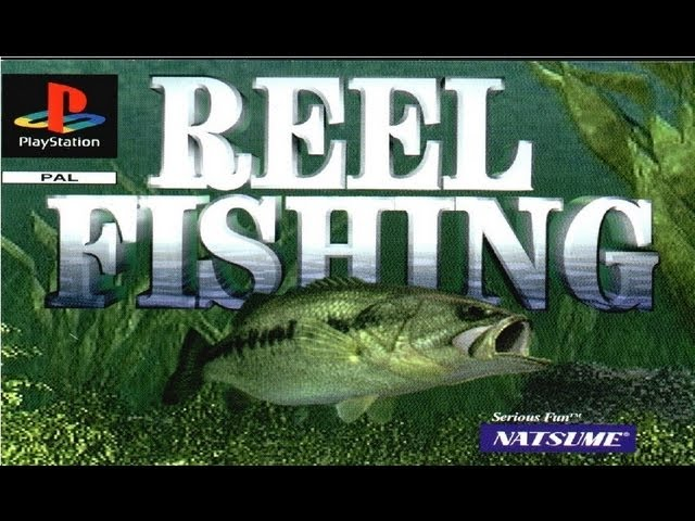 Classic Ps1 Game Reel Fishing On Ps3 In Hd 720p Youtube