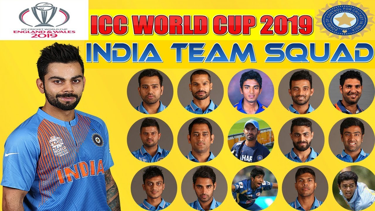indian cricket team for england tour 2019
