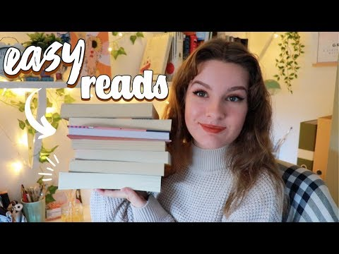 Easy Read Book Recommendations!