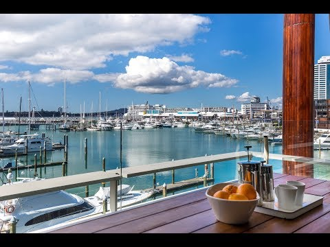 Live Waterfront - Auckland Waterfront Apartment for Sale