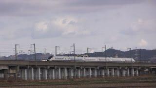 秋田新幹線20周年 リバイバルE3系こまち 古川駅~仙台駅間にて