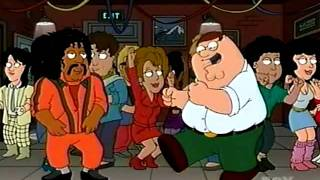 Family Guy - Peter dances in an 80s disco for 10 minutes