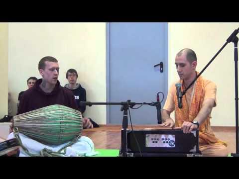Бхагавад Гита 4.34 - Нарада прабху + Сатьяван прабху