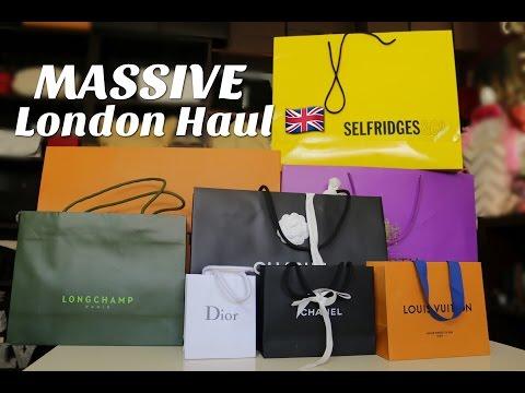 MASSIVE London Haul 2017 | LV, Chanel, Valentino, Givenchy, Dior, Primark