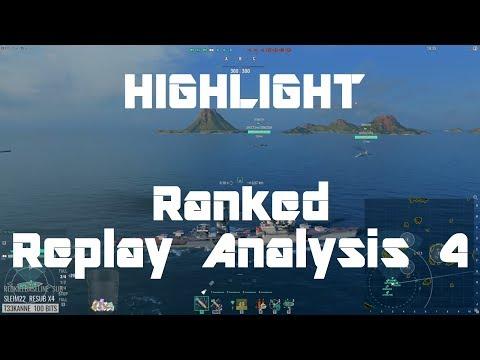 Highlight: Replay Analysis 4 - Chapayev, North Carolina, Lo Yang, Amagi, Harekaze & NC Again