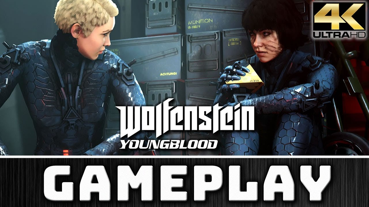 Wolfenstein Youngblood | First 15 Minutes | 4K & 60 FPS on PC