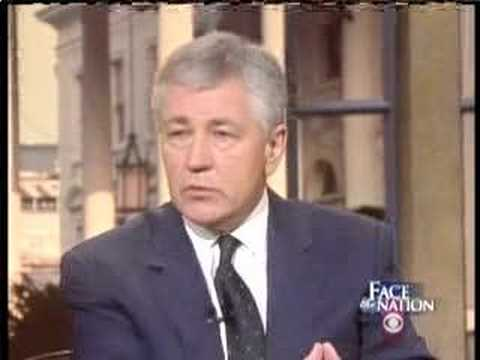 Jay Rockefeller & Chuck Hagel on Face The Nation-CIA Tapes