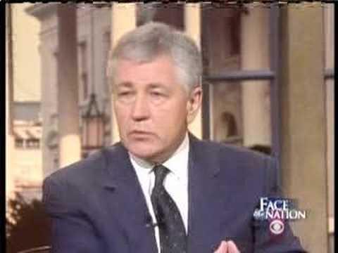 Jay Rockefeller & Chuck Hagel on Face The Nation-CIA Tapes