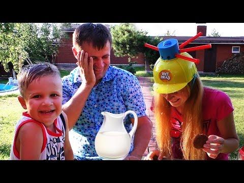 ★ ЧЕЛЛЕНДЖ МОКРАЯ ГОЛОВА Wet Head Challenge EXTREME Family Game Веселое Видео для Детей Игры с Водой