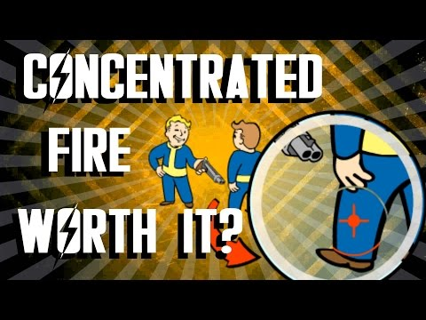 Fallout 4 - Concentrated Fire Perk - Is It Worth It?