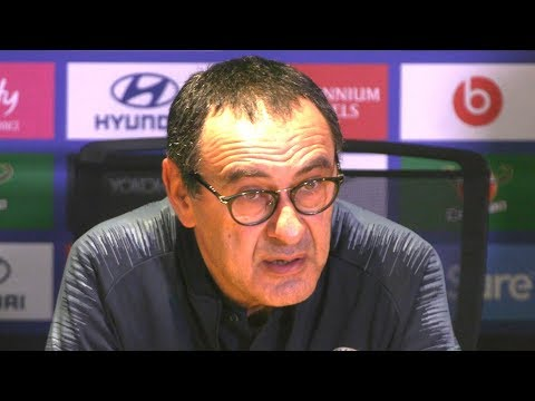 Chelsea 1-1 Wolves - Maurizio Sarri Full Post Match Press Conference - Premier League