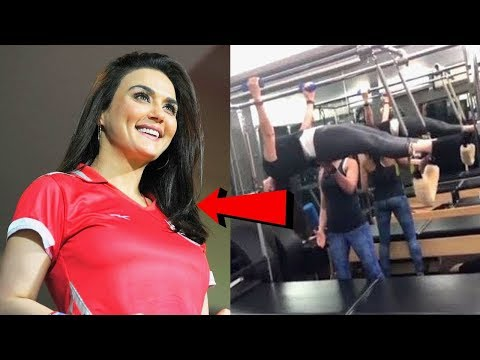 Preity Zinta Special Body Workout Training Video To Look Hot In IPL 2018 thumbnail