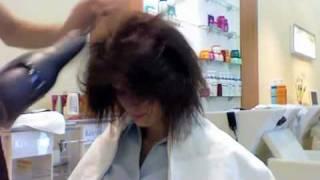 Причёска на скорую руку
