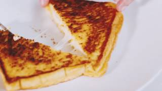 Mozzarella Grilled Cheese with Milo Dinosaur  Recipe Neri&#39s Kitchen  Neri Miranda