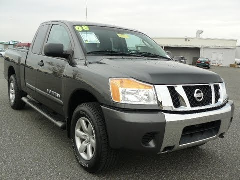 Used Truck Maryland Preston Nissan Dealer Delaware 2008 Nissan Titan 4WD V8