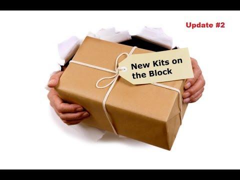 New kits on the block #2 SHAR FA2 KFIR C2C7 T29E3 Panther G X15A2 Hawkeye