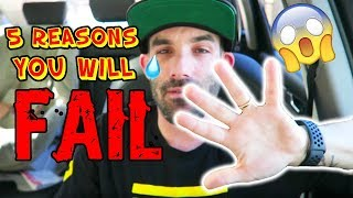 5 Reasons you will fail on Amazon FBA | DONT MAKE THESE MISTAKES