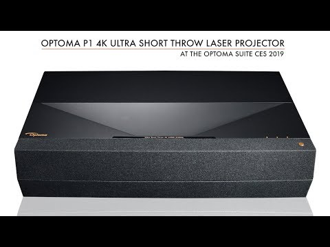 Optoma P1 4K UHD Laser Cinema Unveiled at CES 2019 - YouTube