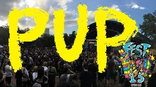 Pup at The Fest 15