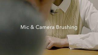 [ASMR] 囁き声で羊数え、マイク&カメラブラッシング Counting sheep, Mic & Camera Brushing, Whispering