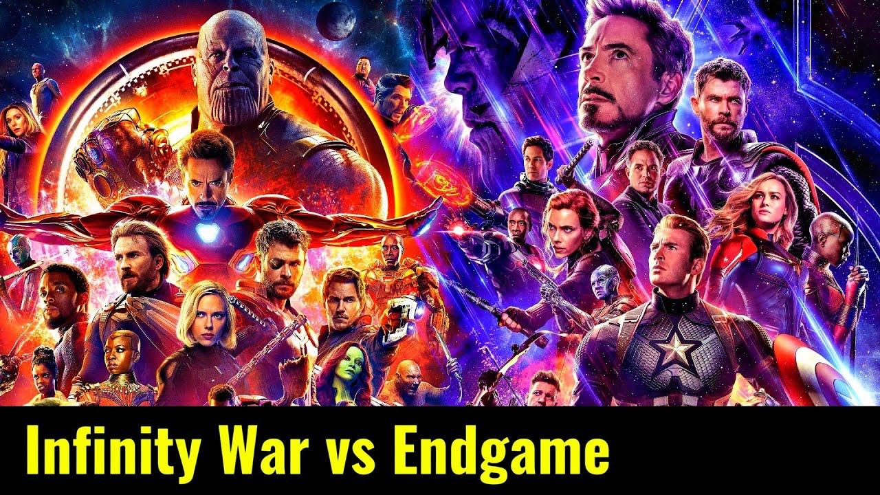 Download Avengers Infinity War vs Avengers Endgame Explained In HINDI   Infinity & Endgame Comparison HINDI