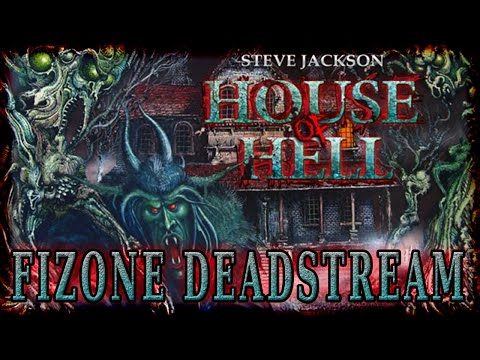 HOUSE OF HELL - Fighting Fantasy FiZone Spoopy Special Stream