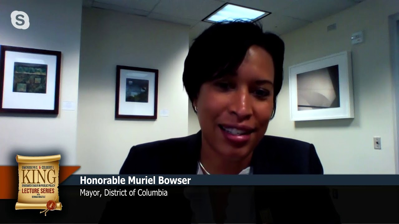 KING LECTURE SERIES - Ep. 105 | Mayor Muriel Bowser