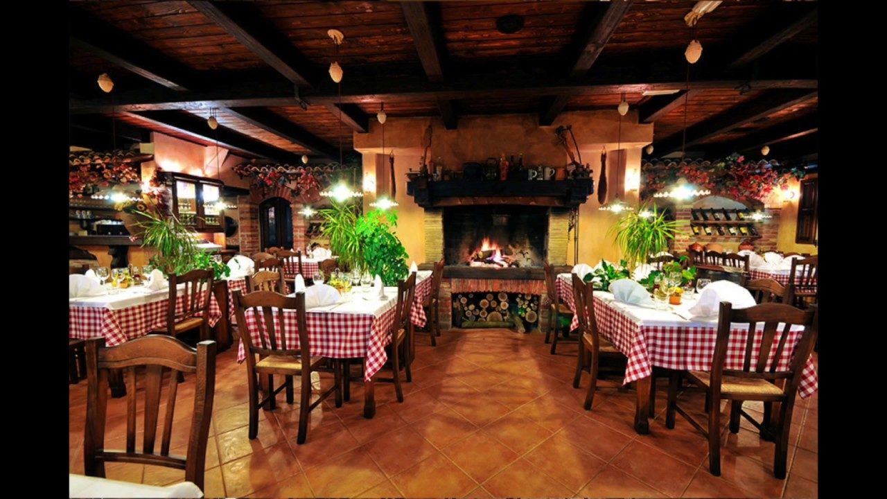 Restaurantes r sticos youtube for Adornos para bares rusticos