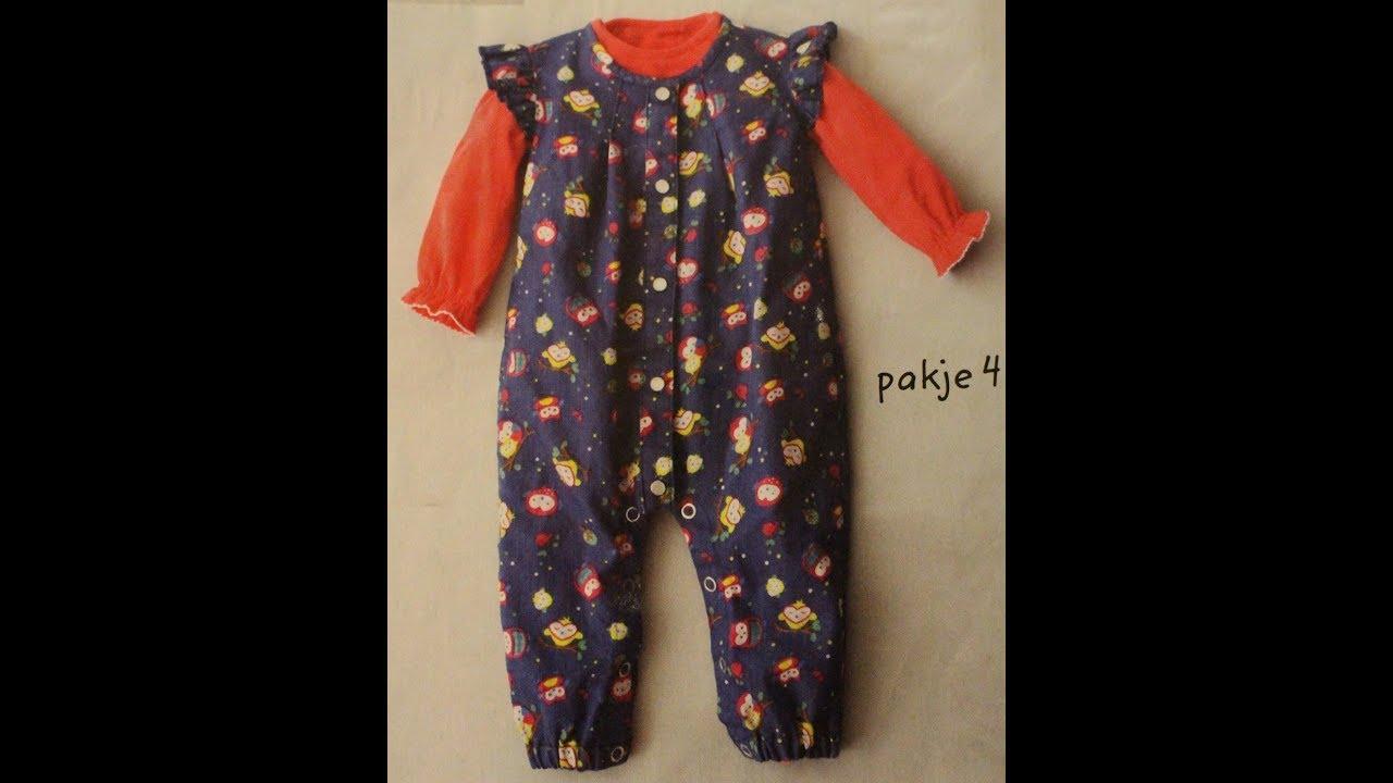 008f49632 خطوات خياطة ملابس الاطفال حديثين الولاده -(الجزء الثاني ) | FunnyCat.TV